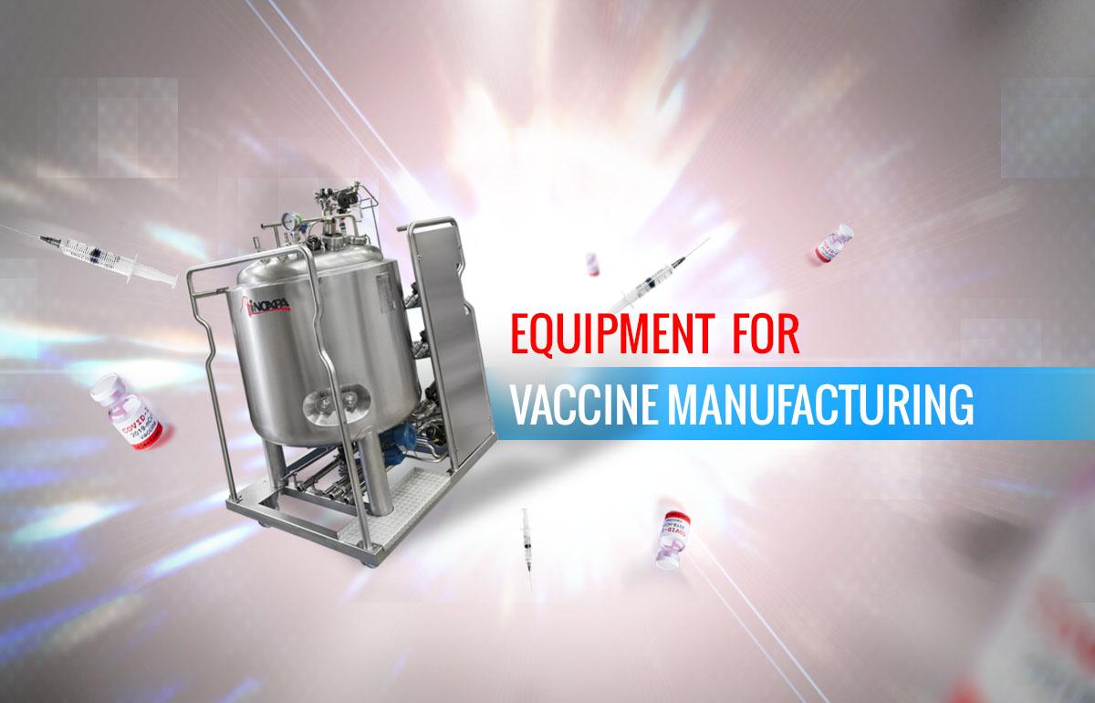 Équipements pour la production de vaccins