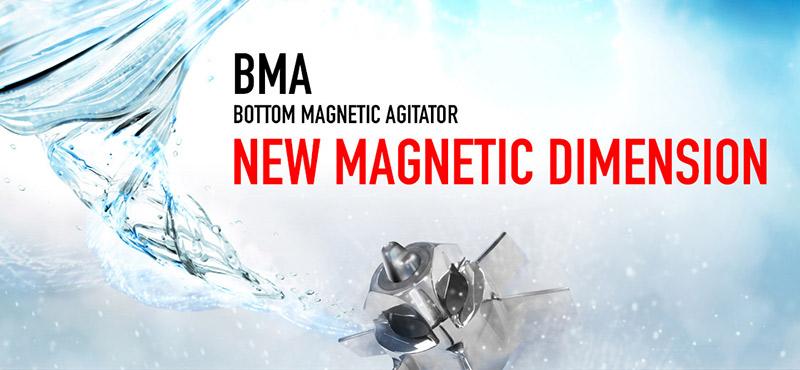 INOXPA présente la nouvelle gamme d'agitateurs magnétiques BMA