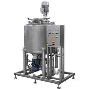 Skid pour la fabrication de gels hydroalcooliques