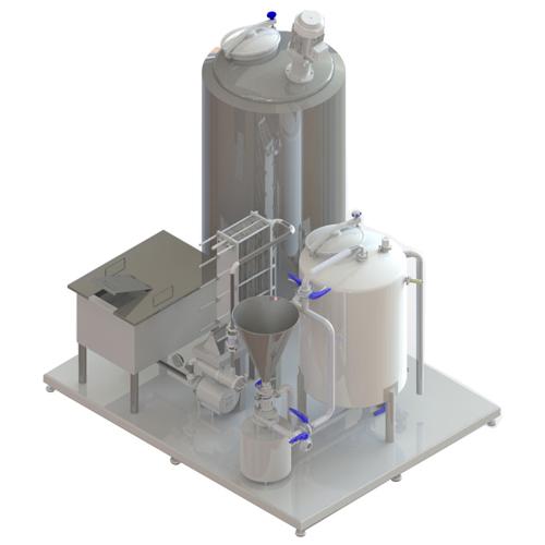 Mini-laiterie. Transformation des Produits Laitiers